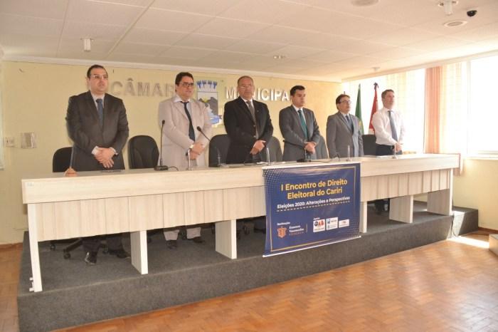 Câmara de Monteiro sedia 1º Encontro de Direito Eleitoral do Cariri
