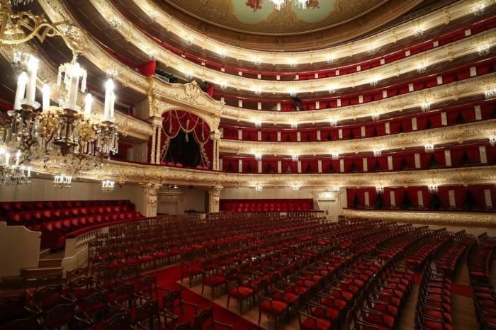 Teatro Bolshoi de Moscou transmite apresentações via streaming