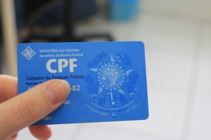Municípios irão auxiliar população sobre CPF