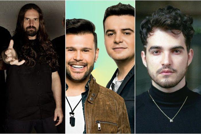 Marcos e Belutti, Sepultura e Jão fazem lives nesta quarta; veja outros shows