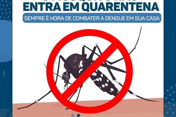 Saúde de Monteiro reforça orientações de prevenção sobre a Dengue, Zika e Chikungunya