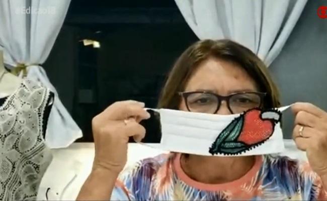 Imprensa nacional destaca produção de máscaras de renda renascença do Cariri paraibano