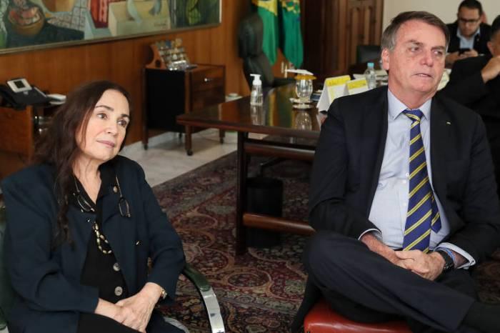 MOÍDOS DA REDAÇÃO: Regina Duarte deixa comando da secretaria de Cultura do governo Bolsonaro