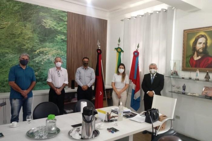 Prefeita Anna Lorena recebe visitas de pastores evangélicos e ratifica parceria em tempo de coronavírus