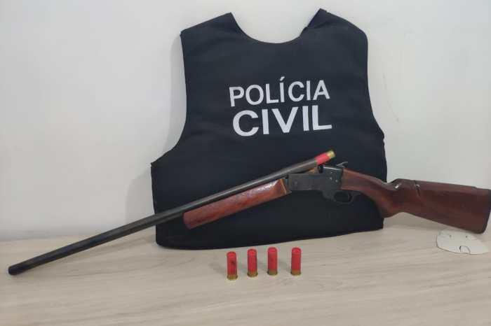 Polícia prende homem suspeito de ameaçar vizinhos em cidade do Cariri