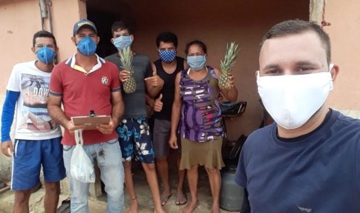 Prefeitura de Cabaceiras distribui alimentos da agricultura familiar com famílias carentes