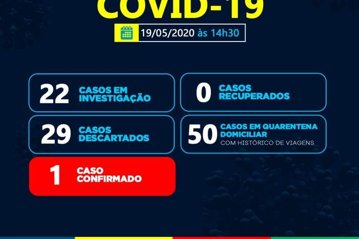 Prefeitura de Sumé comunica o registro do primeiro caso de Covid-19 no município