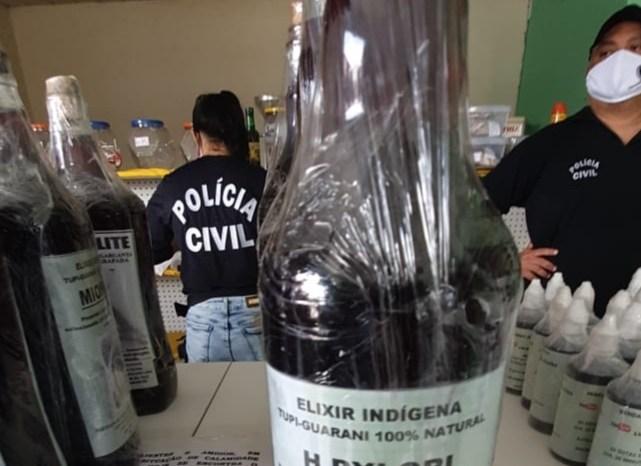 Suspeito de vender falso remédio para Covid-19 é preso na PB