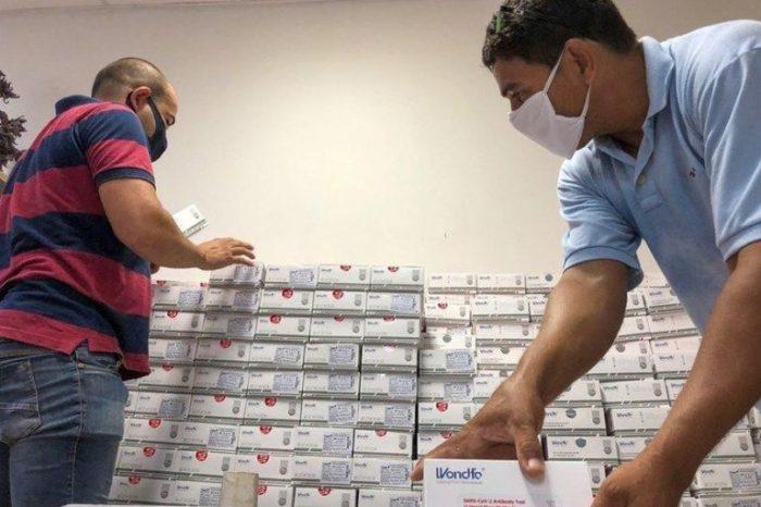Gerente de saúde do Cariri está enviando testes rápidos para todos os municípios