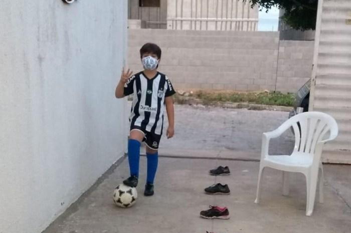 EaD: Treze retoma aulas da escolinha de futebol