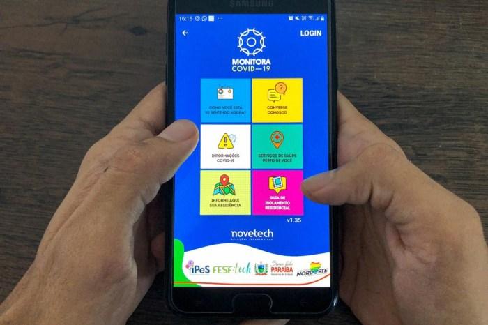 MOÍDOS DA REDAÇÃO: Governo disponibiliza aplicativo para auxiliar no combate à pandemia