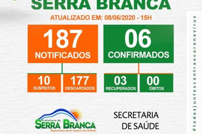 Secretaria de Saúde de Serra Branca confirma três casos de coronavírus