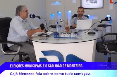 Presidente da Câmara de Monteiro concede entrevista e fala sobre São João e eleições 2020