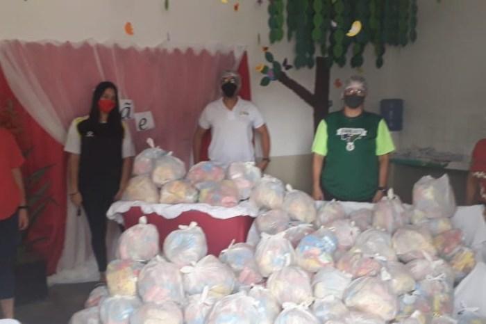 IFPB de Monteiro realiza doação de lanches para alunos de creche da rede municipal de Monteiro