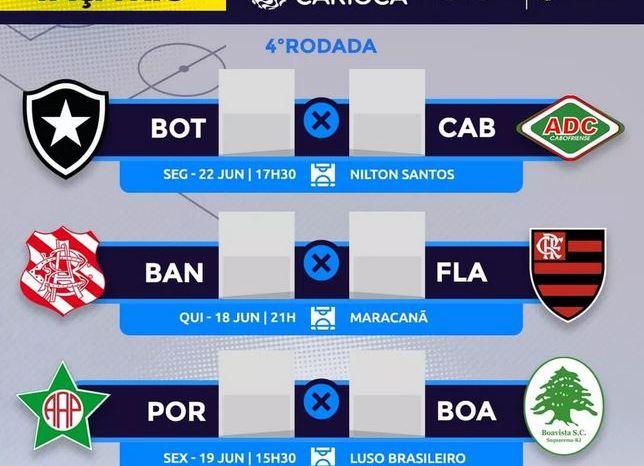 Campeonato Carioca retorna e Flamengo joga contra Bangu