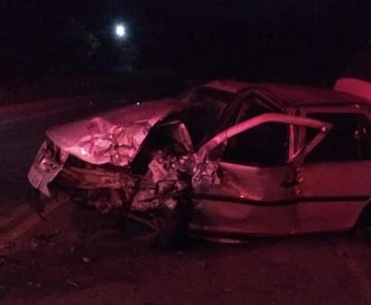 Colisão entre veículos deixa uma pessoa morta e quatro feridas no Cariri