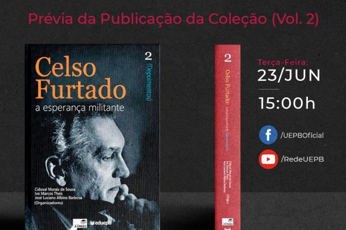"""Livro """"Depoimentos"""" sobre Celso Furtado tem lançamento online"""