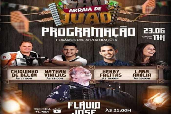 Flávio José realiza live de São João nesta terça-feira direto de Monteiro