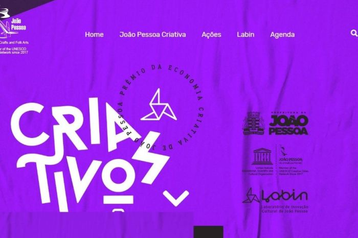 Prêmio da Economia Criativa de João Pessoa está com inscrições abertas