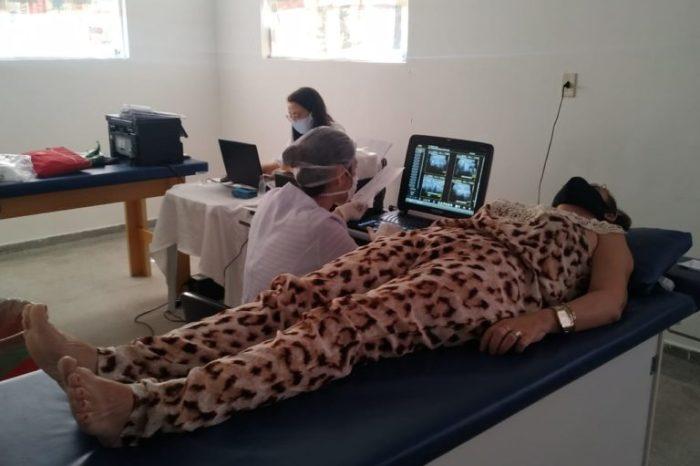 Em parceria com o CISCO, Prefeitura de Gurjão realiza diversos exames para população