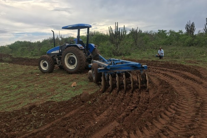 Monteiro fecha primeiro semestre com aração de mais de 500 hectares de terra