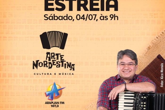 Programa 'Arte Nordestina' estreia na Arapuan focado em artistas do NE