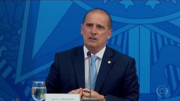 Ministro Onyx Lorenzoni diz que está com Covid-19