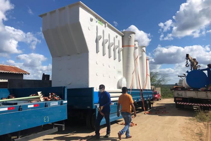 Açude de Barra de São Miguel recebe nova estação de tratamento em parceria com o Estado