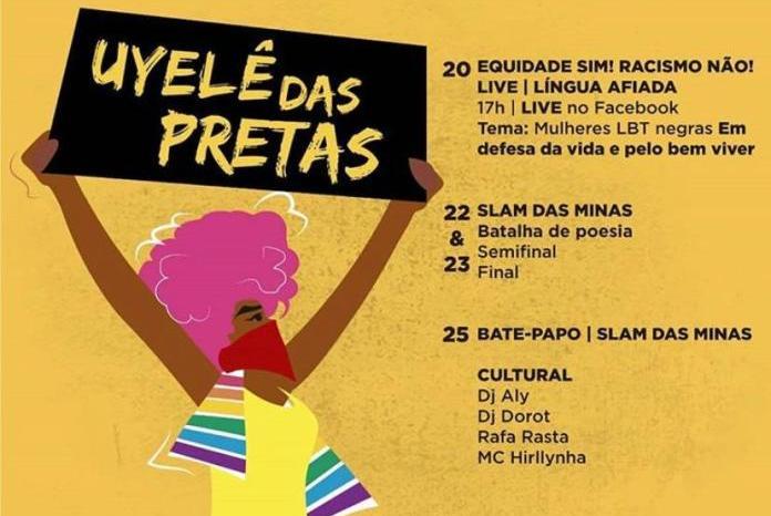 'Uyelê das Pretas' acontece de 20 à 25 de julho, na Paraíba