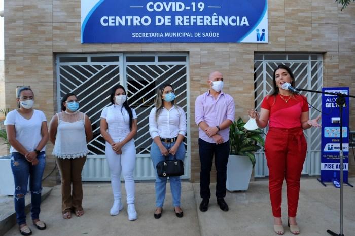 Centro de Referência Municipal para o COVID-19 é entregue pela prefeita Anna Lorena