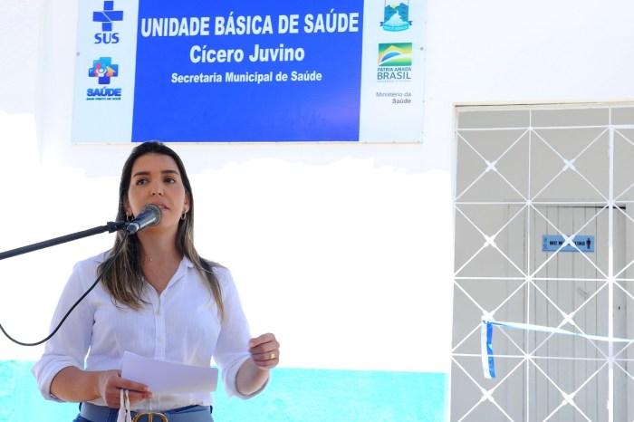 Anna Lorena beneficia 70 famílias com a reforma e ampliação de Unidade Âncora da Gameleira