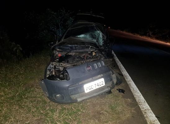 Acidente envolvendo carro e caminhão deixa vítima fatal próximo à Monteiro
