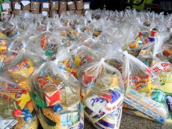 Campanha IFPB Solidário: Estudantes fazem distribuição de cestas básicas no Cariri