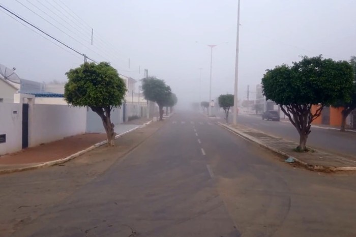Aesa registra 15,9ºC na cidade de Monteiro na madrugada desta segunda-feira