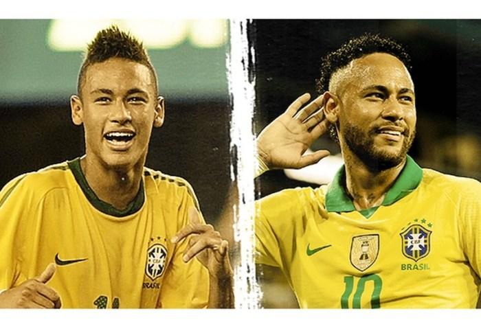 Neymar comemora dez anos da estreia na Seleção Brasileira
