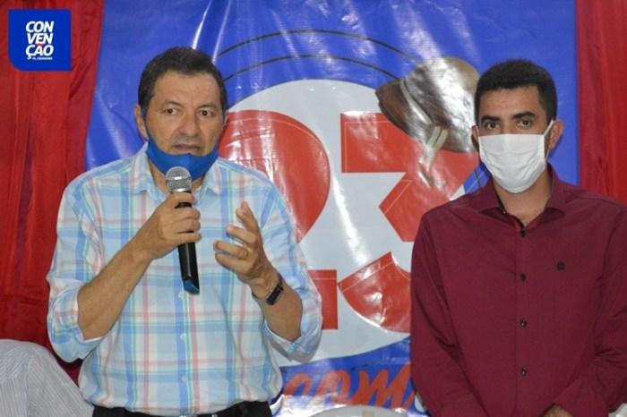 Camalaú: Aristeu Chaves e Bibi registram candidaturas na Justiça Eleitoral