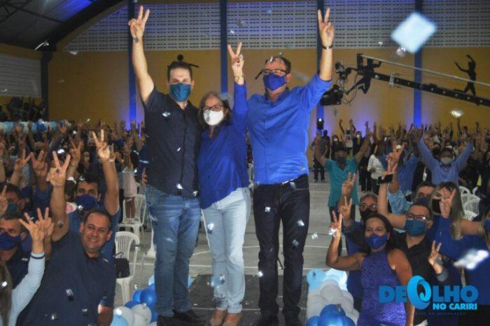 Helder Trajano e Chico de Eulina são oficializados candidatos a prefeito e vice de São João do Cariri