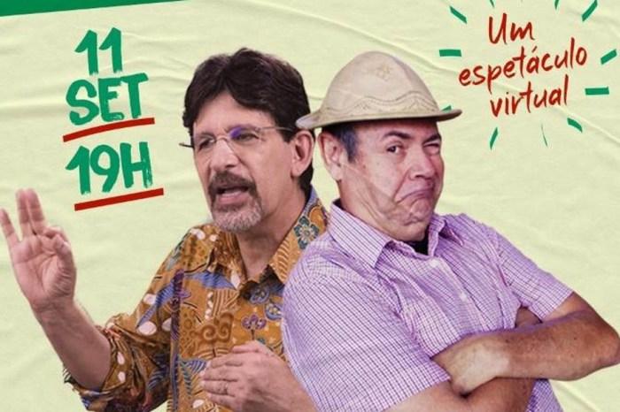Jessier Quirino e Zé Lezin fazem live 'Mentira provisória: a verdade eleitoral' nesta sexta