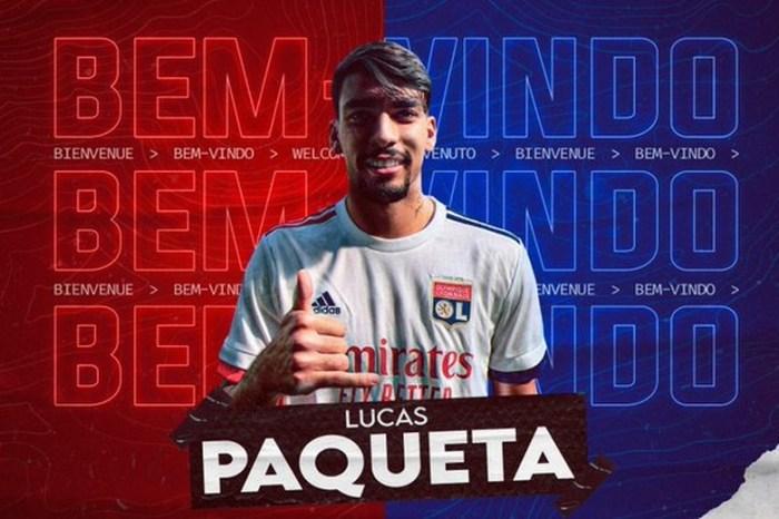 Lucas Paquetá é anunciado oficialmente pelo Lyon