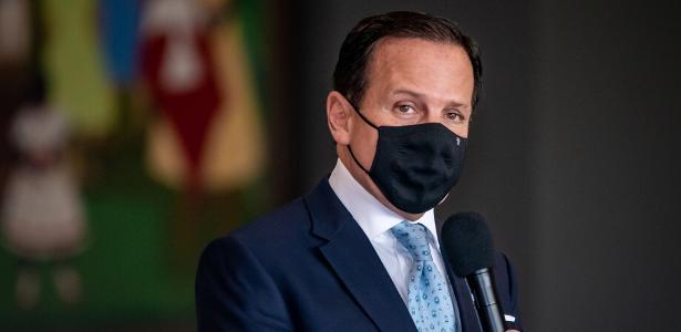 Doria diz que SP vacinará médicos contra a Covid em dezembro