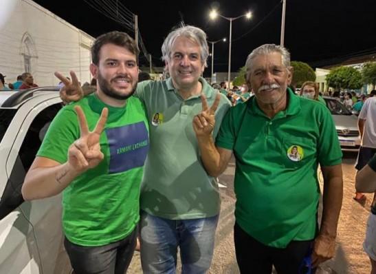 Vereadores Chuta e Raul Formiga anunciam apoio a reeleição de Cajó Menezes