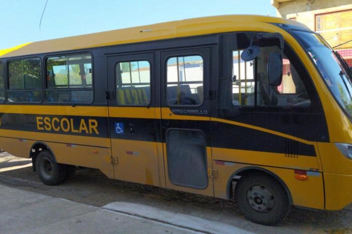 Novo ônibus escolar é entregue ao município, este é o segundo entregue neste ano