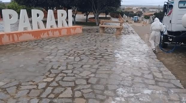 Município de Parari emite novo decreto devido ao aumento de casos de Covid-19