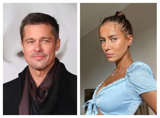 Brad Pitt está ajudando nova namorada a iniciar carreira em Hollywood