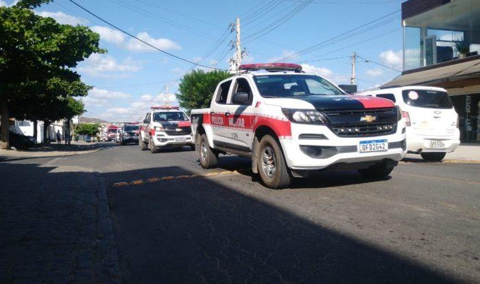 Policias Civil e Militar realizam operação em Boqueirão e apreendem arma e droga