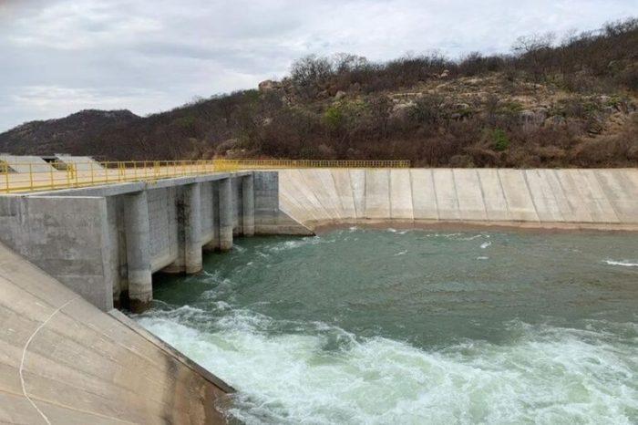 Paraíba volta a receber fluxo das águas do Rio São Francisco