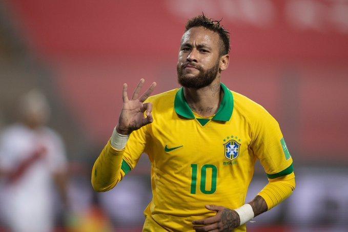 Neymar comanda a vitória do Brasil sobre o Peru