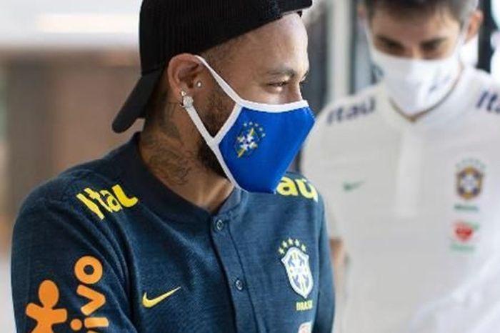 Neymar sente dores nas costas, deixa treino e vira dúvida na seleção