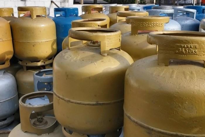 Preço do gás de cozinha aumenta 5% a partir desta sexta, na Paraíba