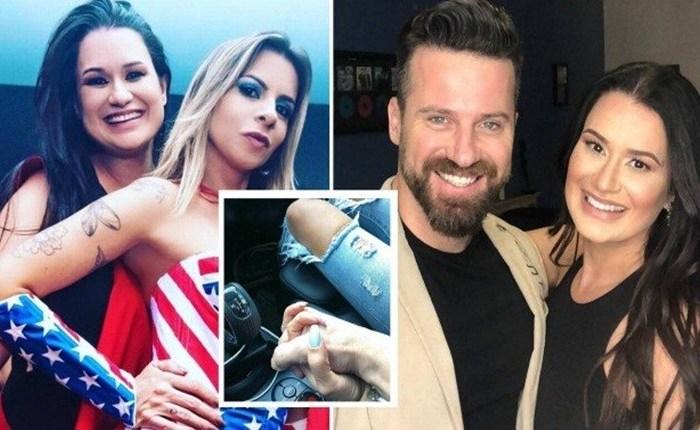 Ex-amiga da esposa do cantor Marlon assume romance com o sertanejo